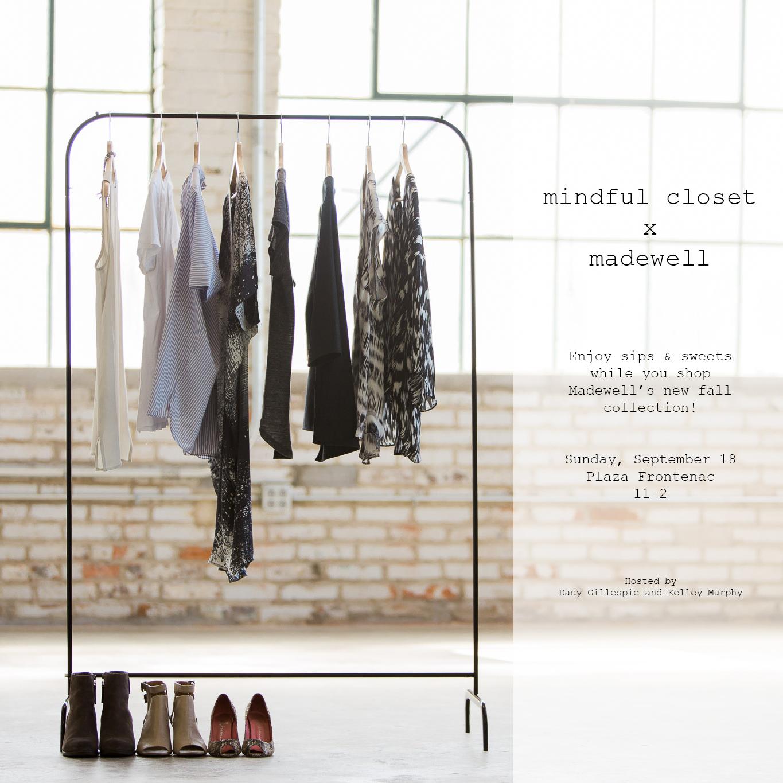 mindful closet x madewell