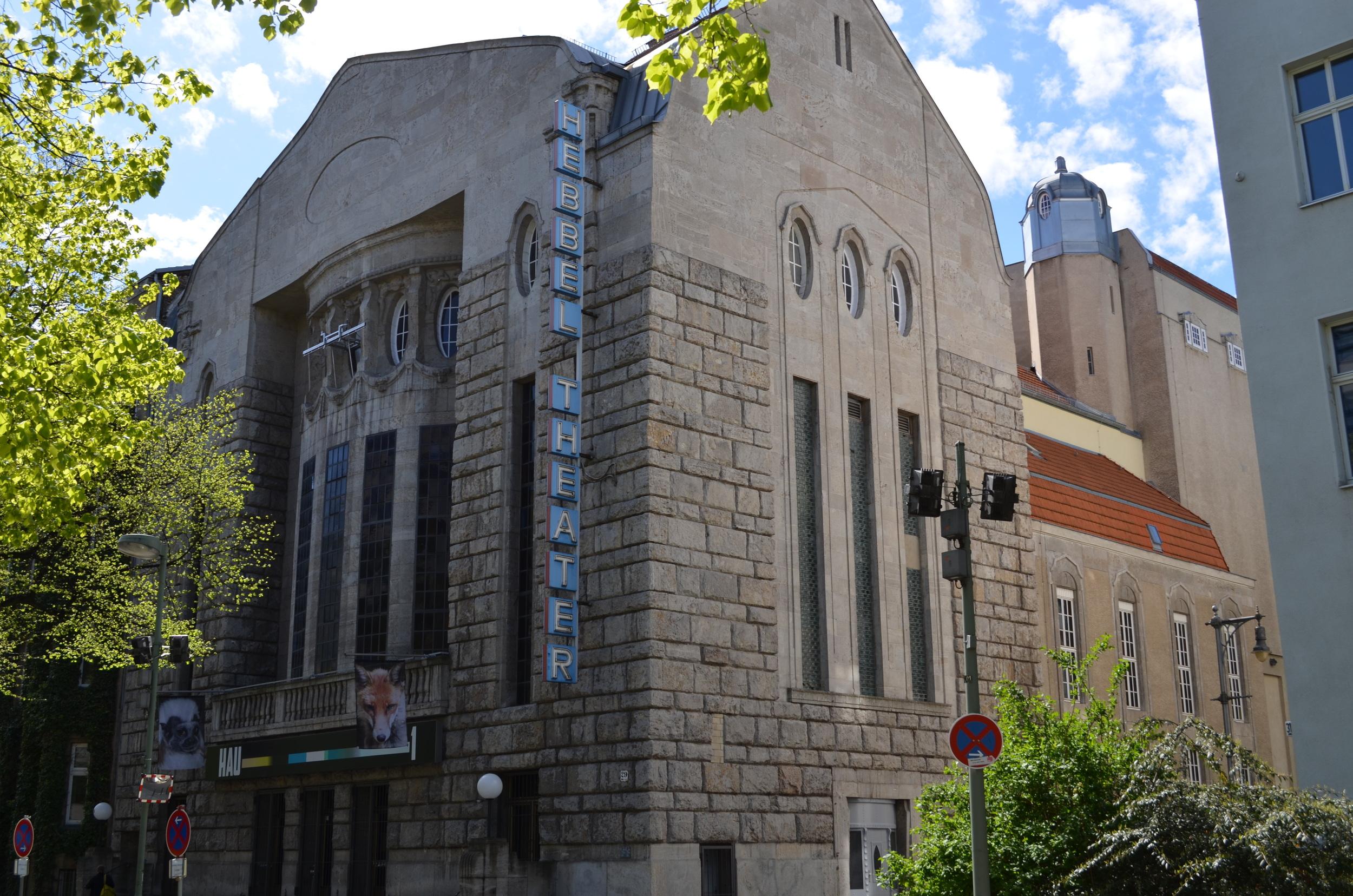 The Hebbel Theater in Kreuzberg.