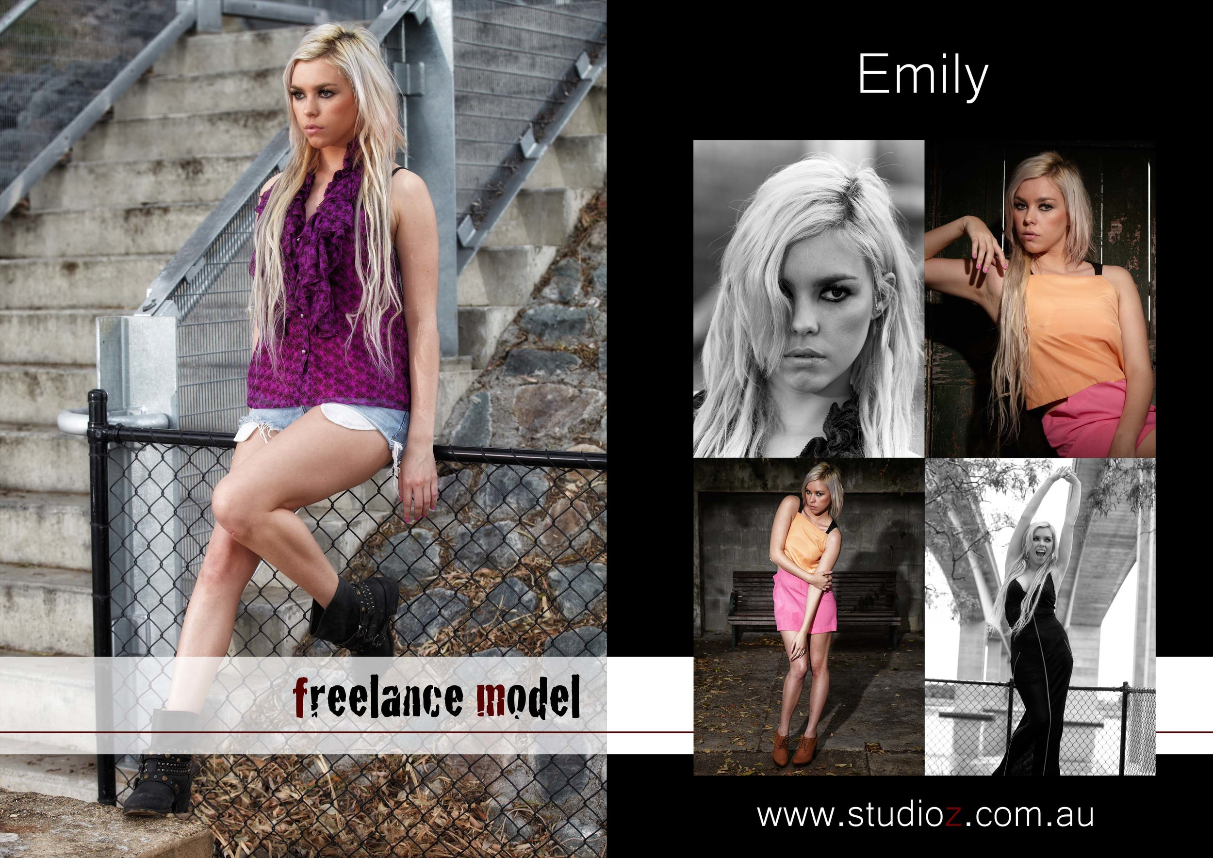 Comp Card production on request!