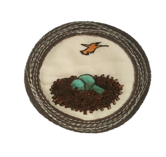 For 'Leaving the Nest'.   $25