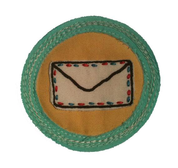 For 'Pushing the Envelope'.   $25