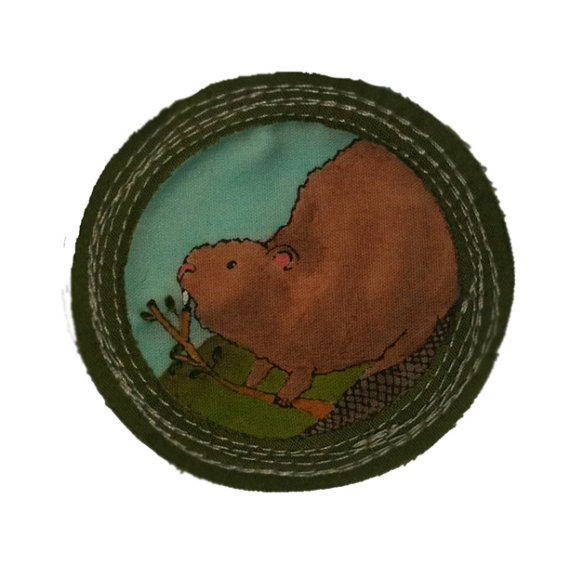 For 'Being a Busy Beaver'.   $25
