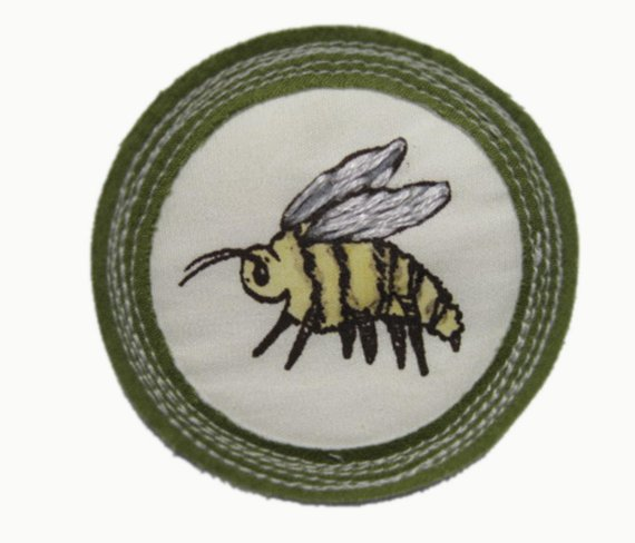 For 'Being a Busy Bee'.   $25