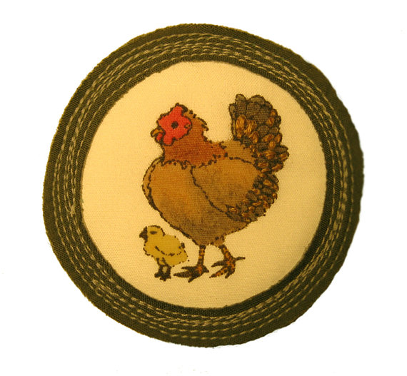 For 'Being a Mother Hen'.   $25