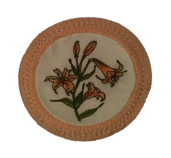 For 'Gilding the Lilies'.   $25