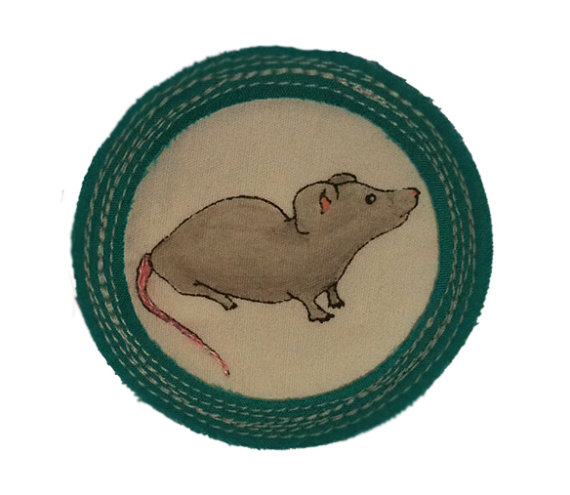 For 'Being Quiet as a Church Mouse'.   $15