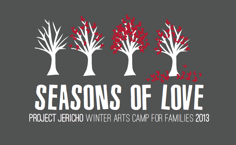 Project Jericho 's Winter Arts Camp 2013 Identity