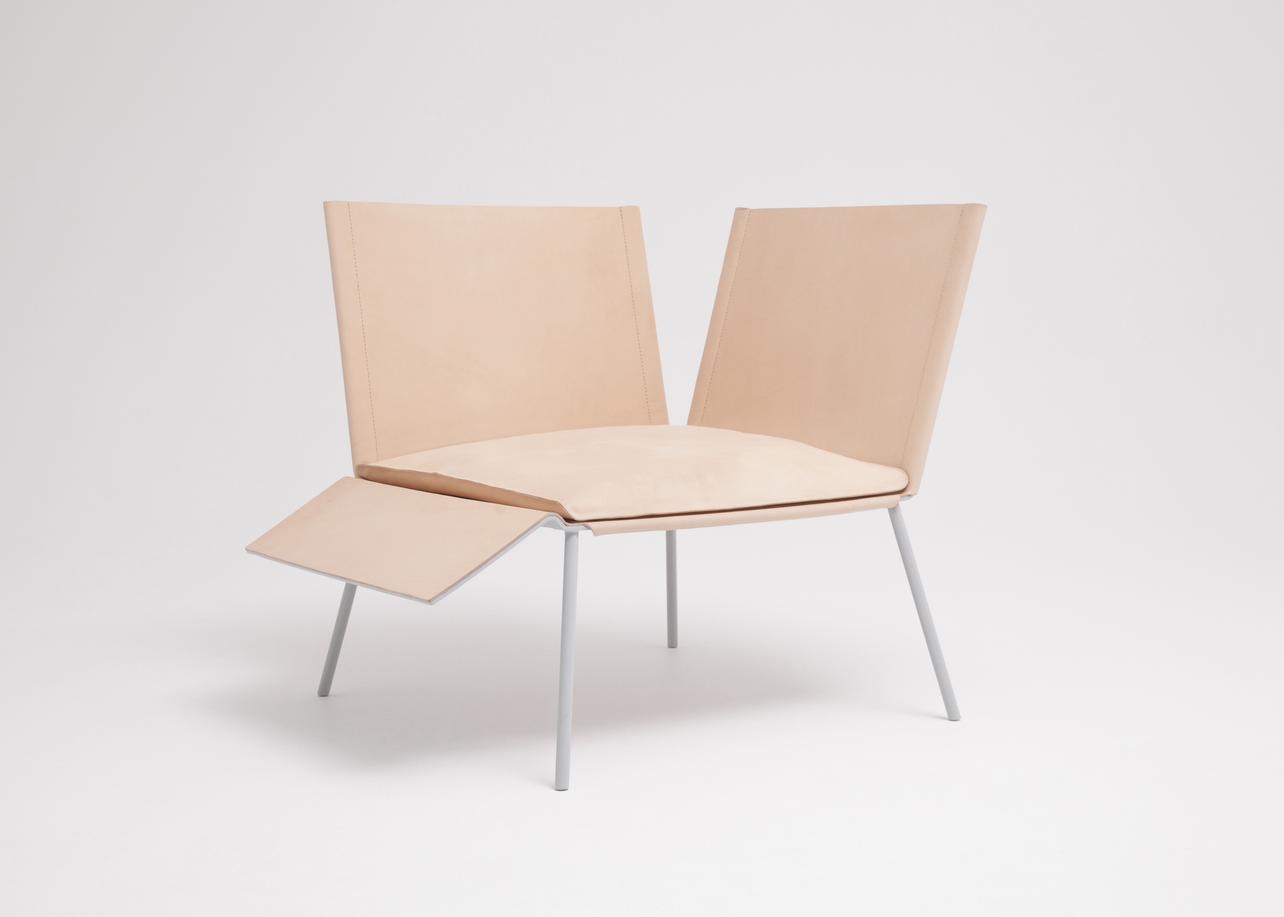 Thom Fougere Saddle Chair 1