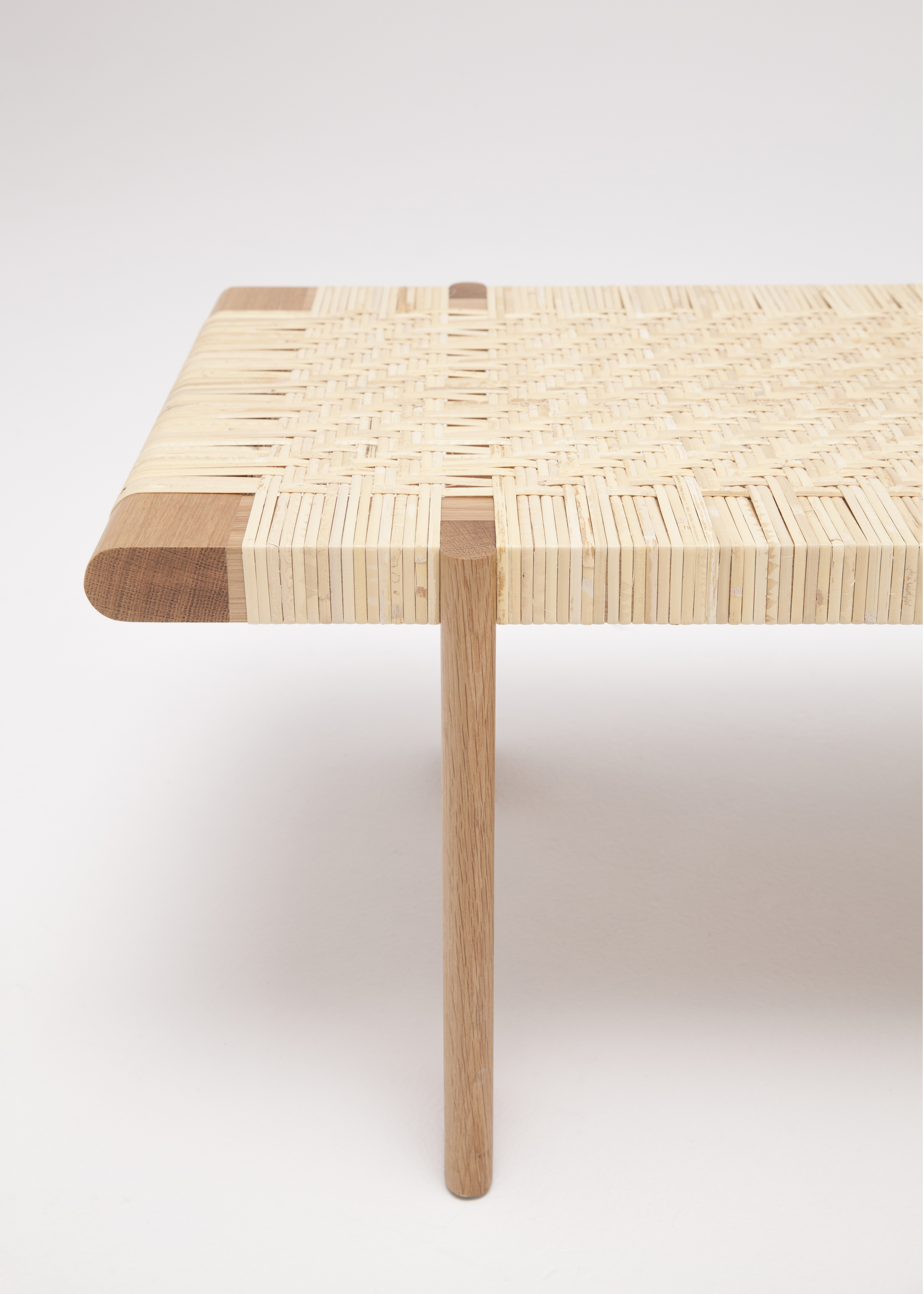 Rattan Bench Thom Fougere 6