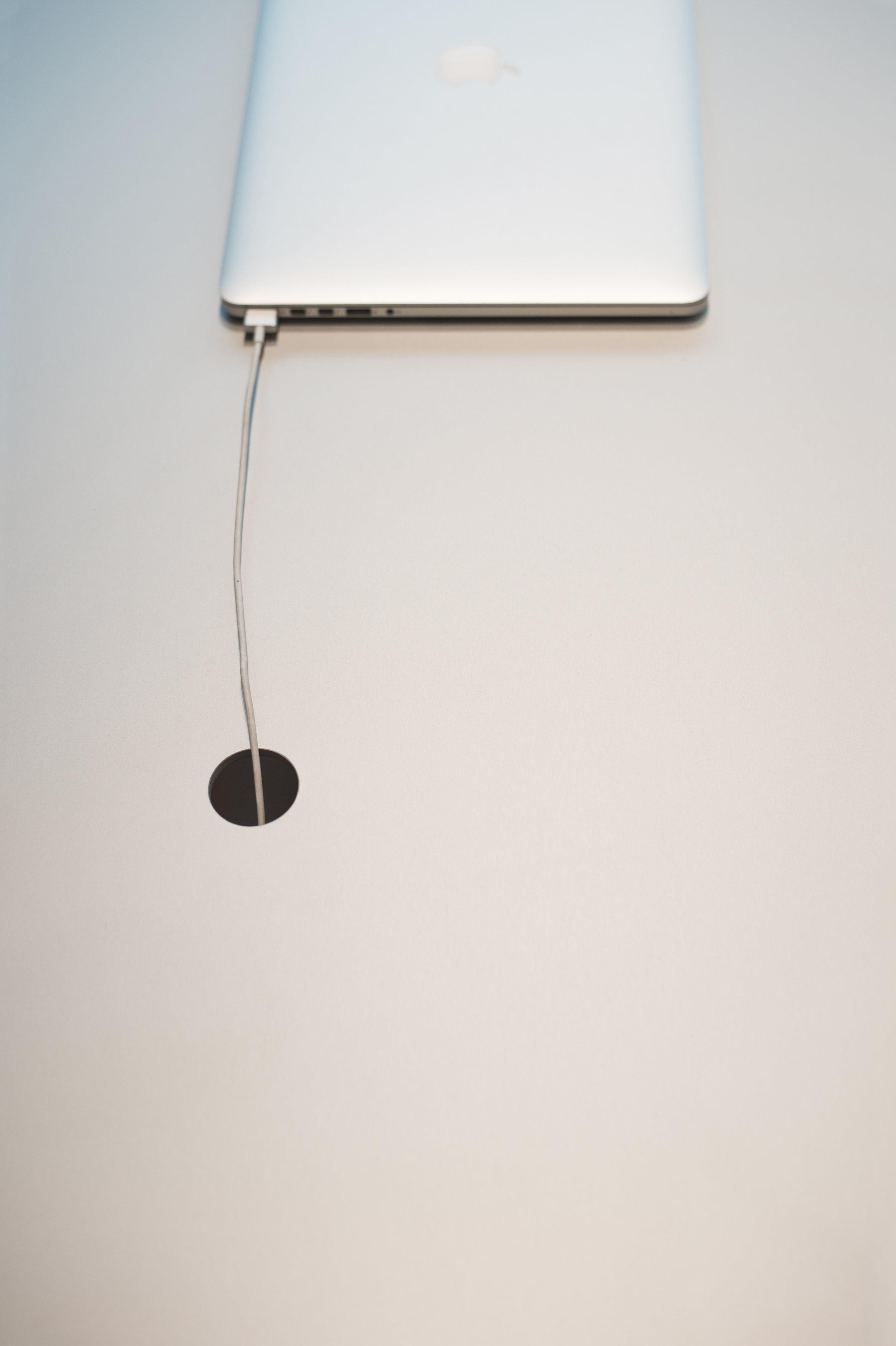 Thom Fougere Reception Desk Aluminum