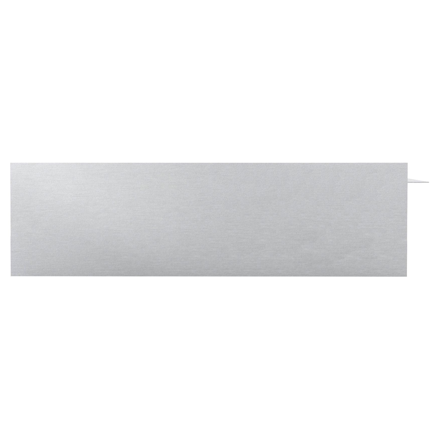 aluminum desk