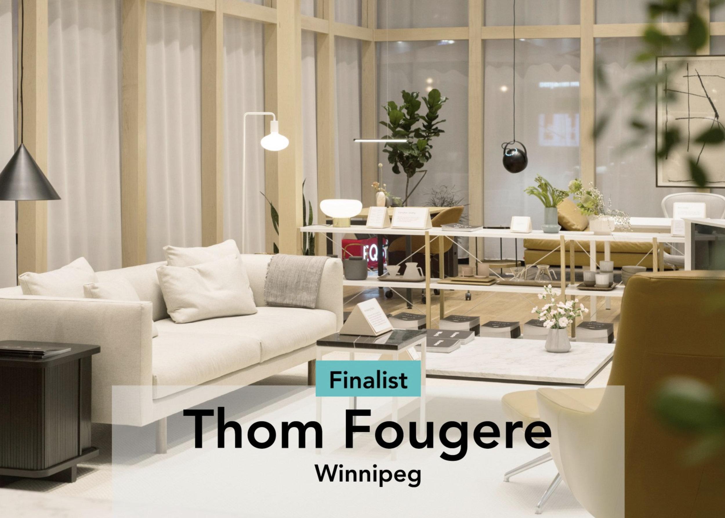 Thom Fougere Design Exchange Emerging Designer