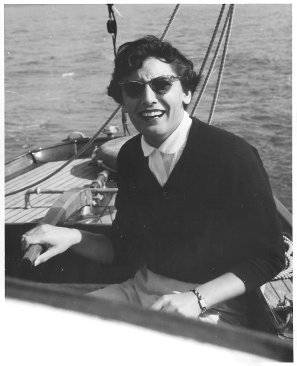 Sailing on the Bay in 1946