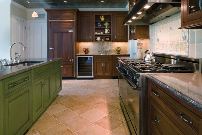 This kitchen was our inspiration.