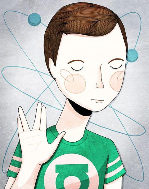 Sheldon Cooper Fan Art
