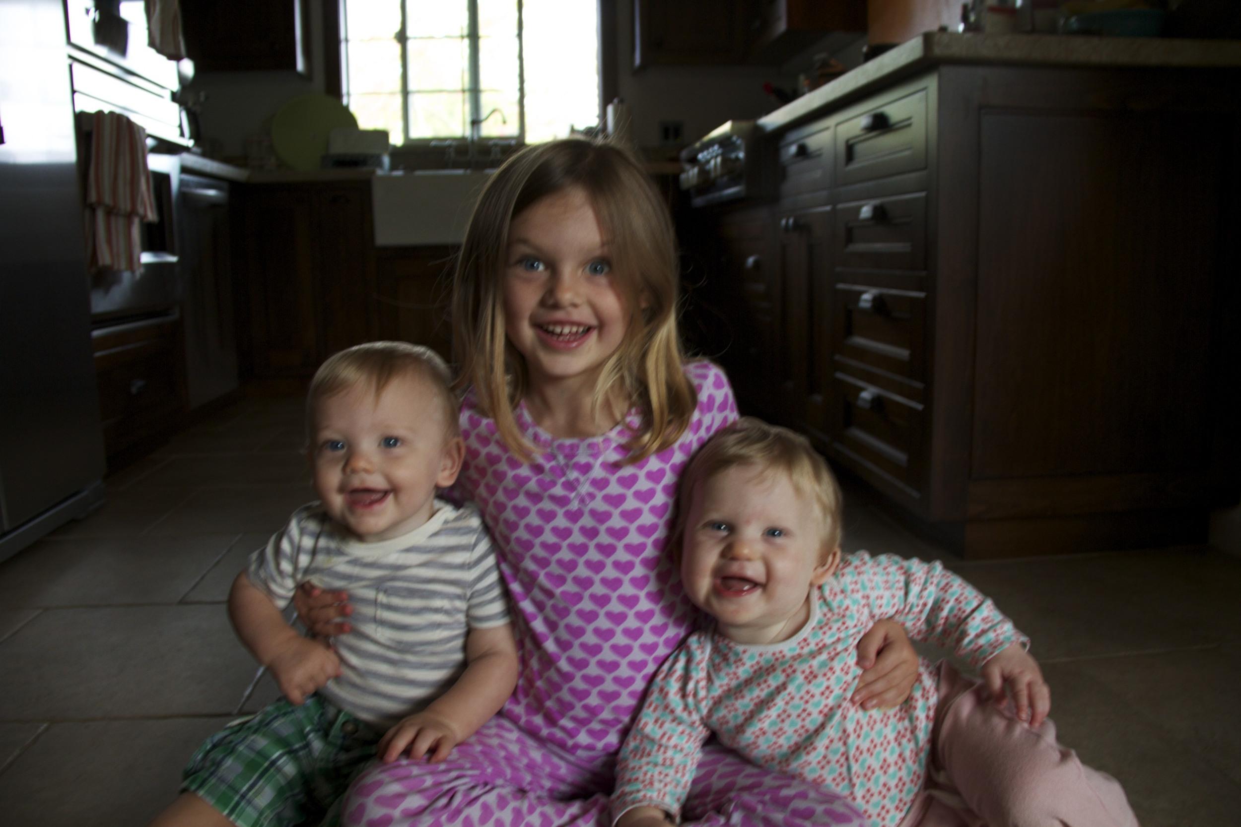 3 in a Kitchen