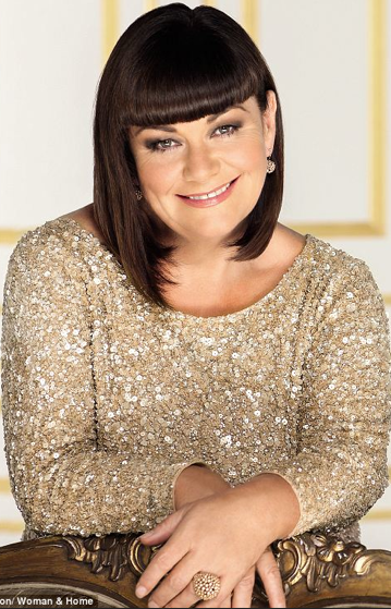 Dawn French TodaY! Smokin!