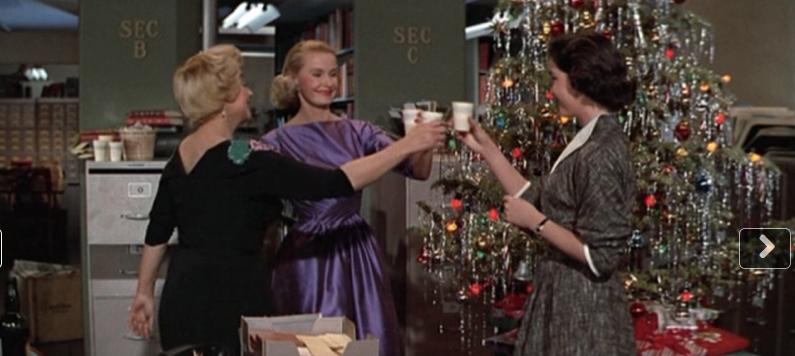 "Joan Blondell & Dina Merrill in ""Desk Set"""