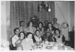 My Great-Great Aunt Florence seated closest to the camera, seen here in her teens