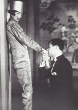 Cunard with Tristan Zara in 1924
