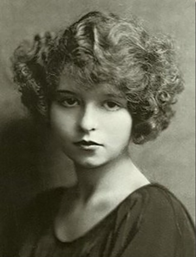 Mae West in her teen years.
