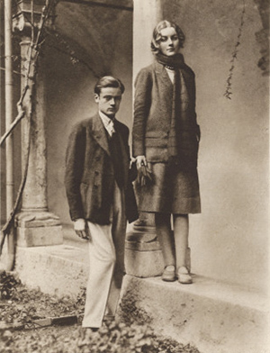 Bryan Guiness & Diana Mitford