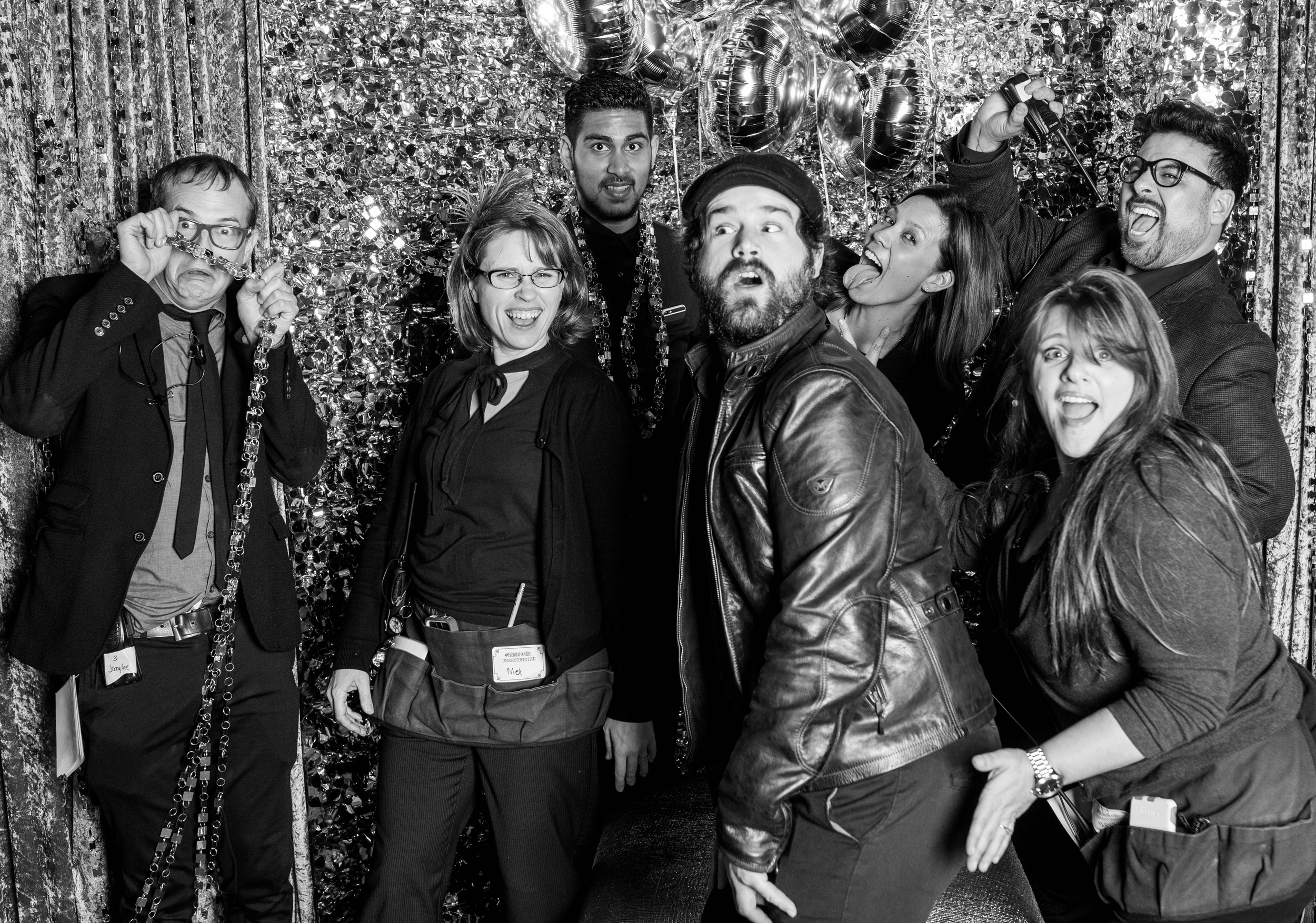 The show wouldn't have been flawless without this Merry Band of Misfit Toys at the Helm!!!! Sasha, Mel, Rachel, Jerry, Nico and gang....you were amazing to work with..........