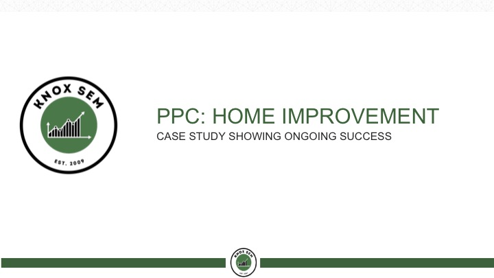 ppc for home improvement