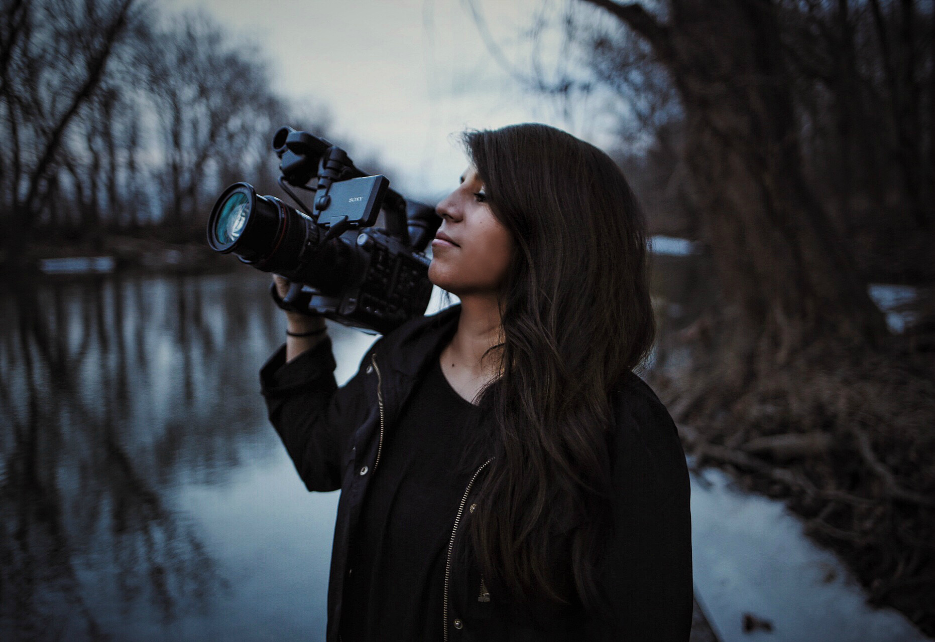 On set/ short film. Photo Cred:  Abby Floyd