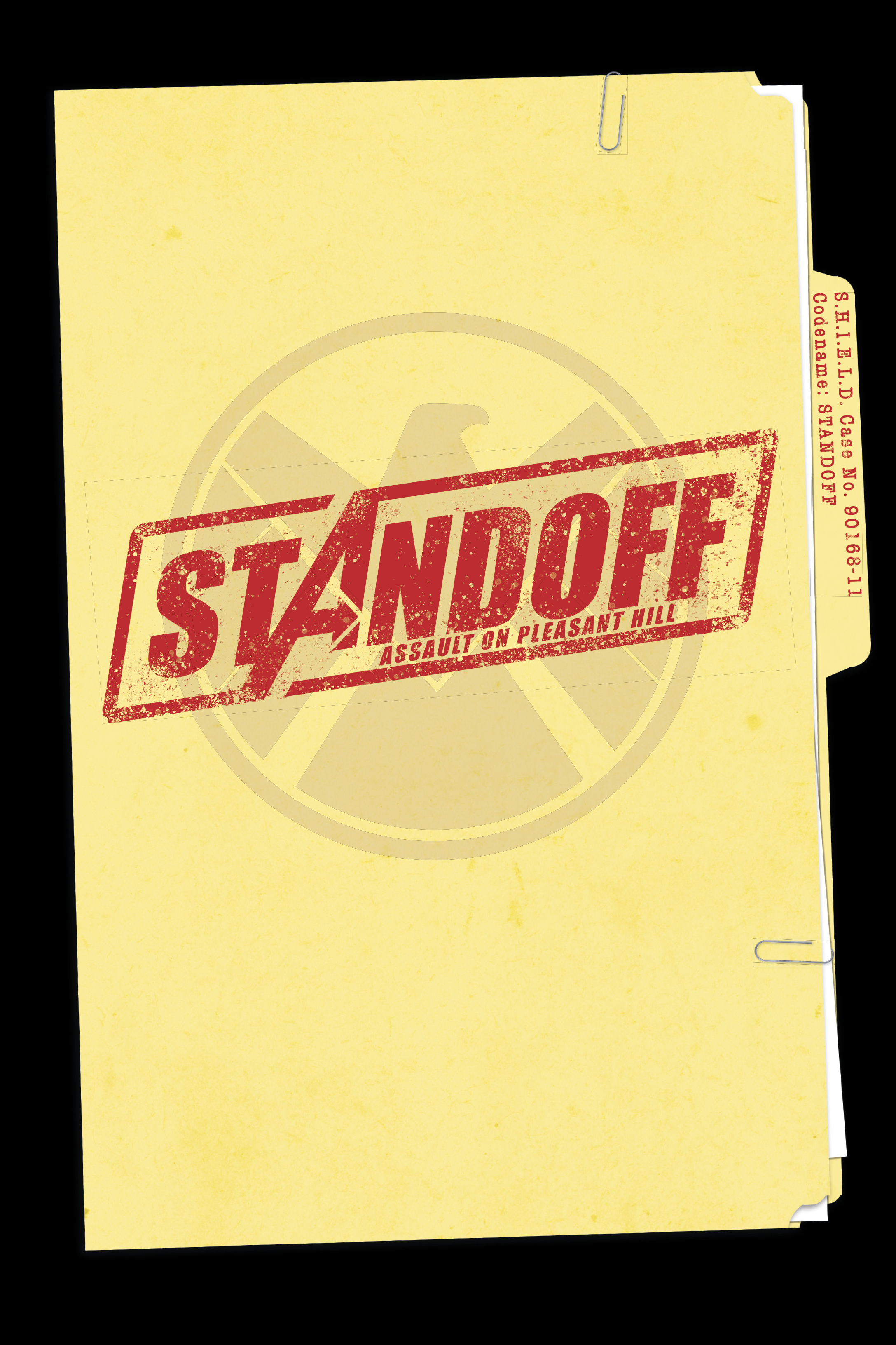 Design and layout for  Avengers: Standoff . Content copyright Marvel Entertainment, 2016.