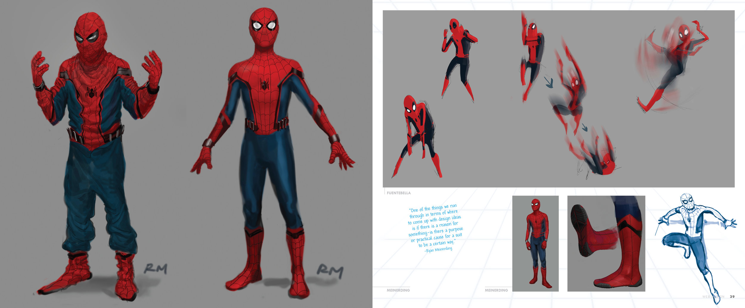 Concept Art Spider Man Homecoming