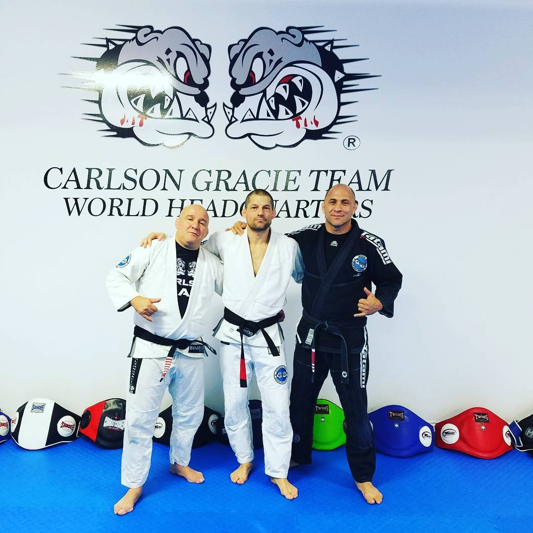Black Belt Ceremony at Carlson Gracie HQ