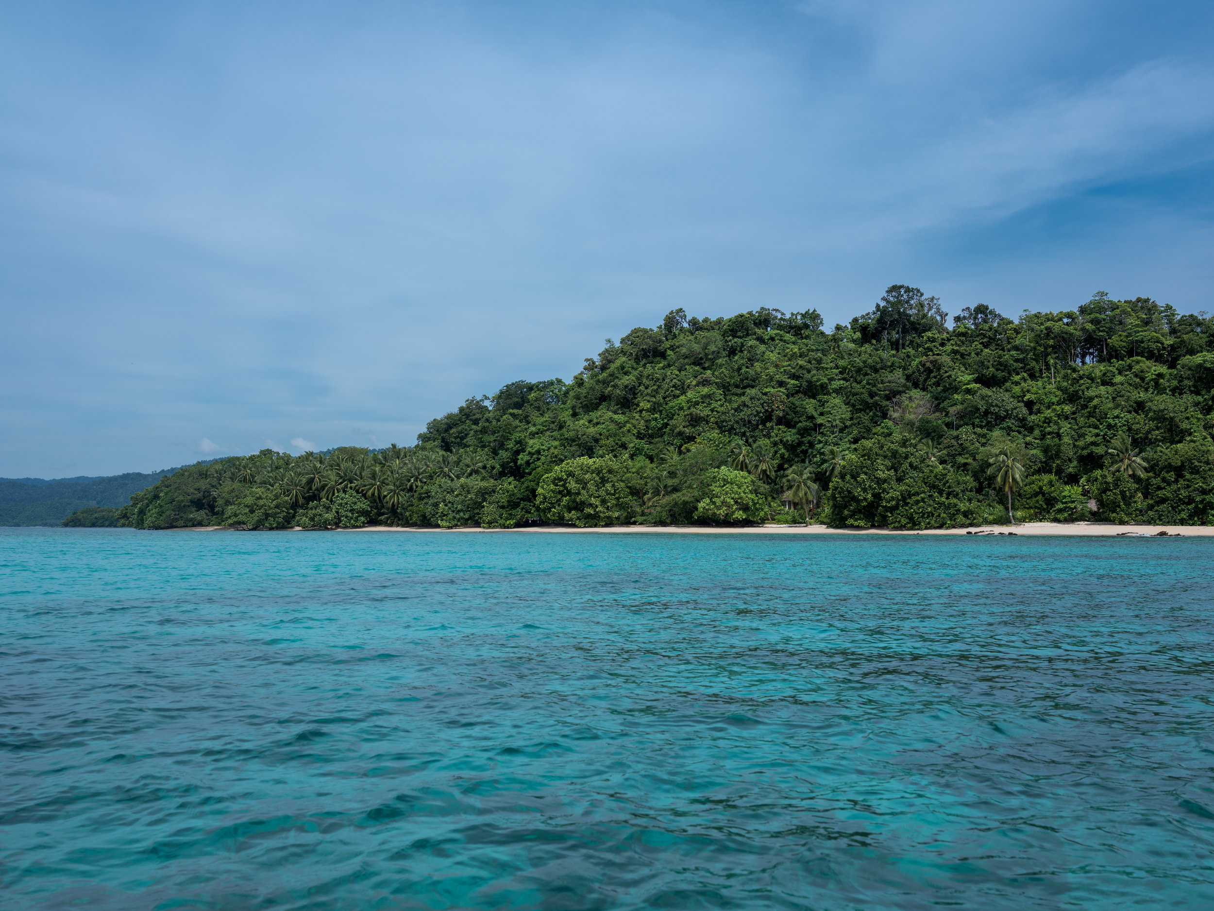 The coral rich islands of Port Barton, Philippines