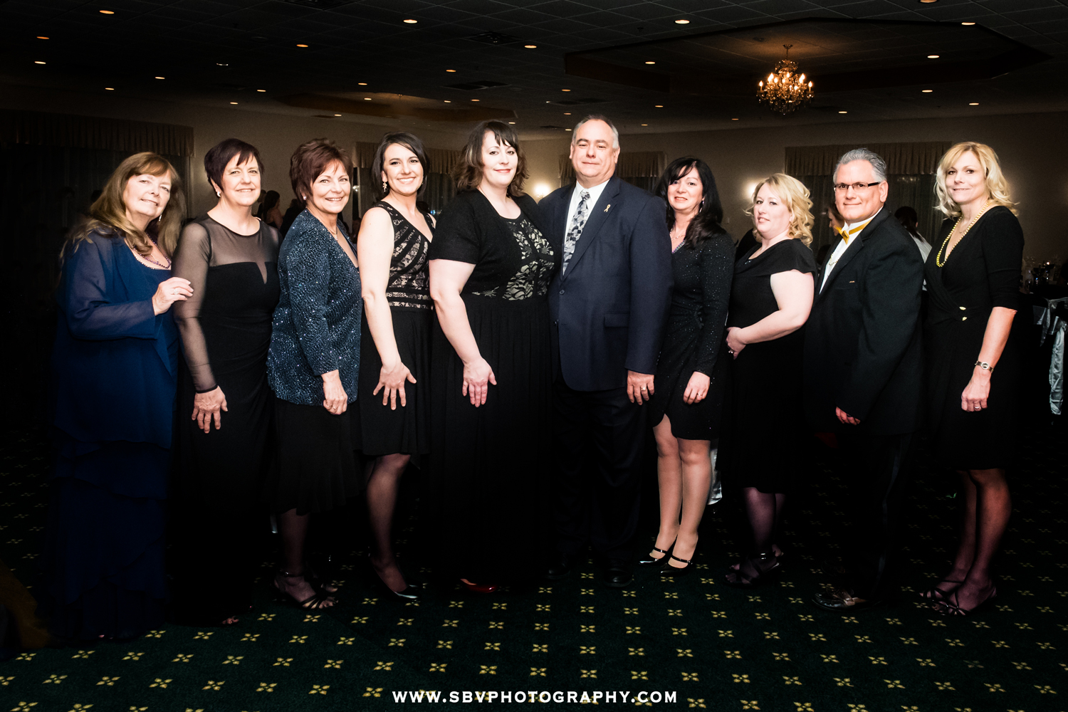Northwest Indiana Cancer Kids Foundation board members pose for a group photograph.