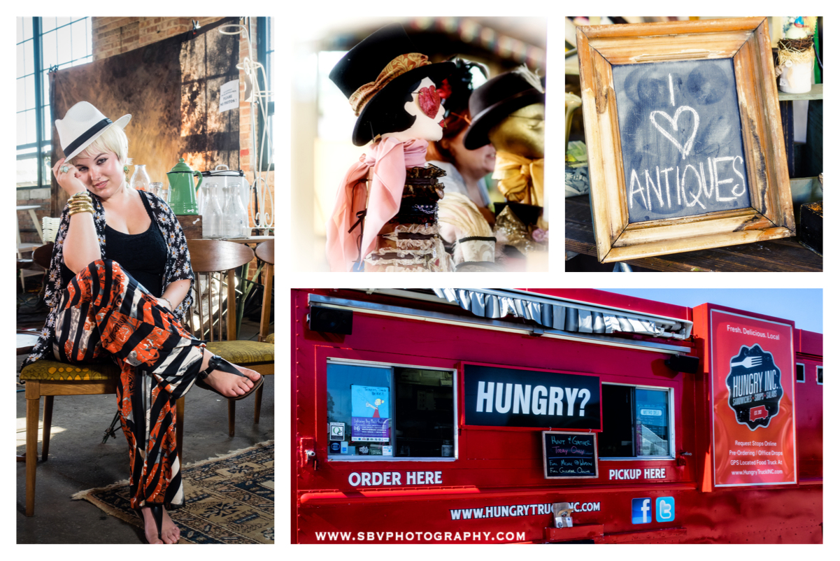 Antiques, vintage clothing, food and more at Hunt and Gather 2014.