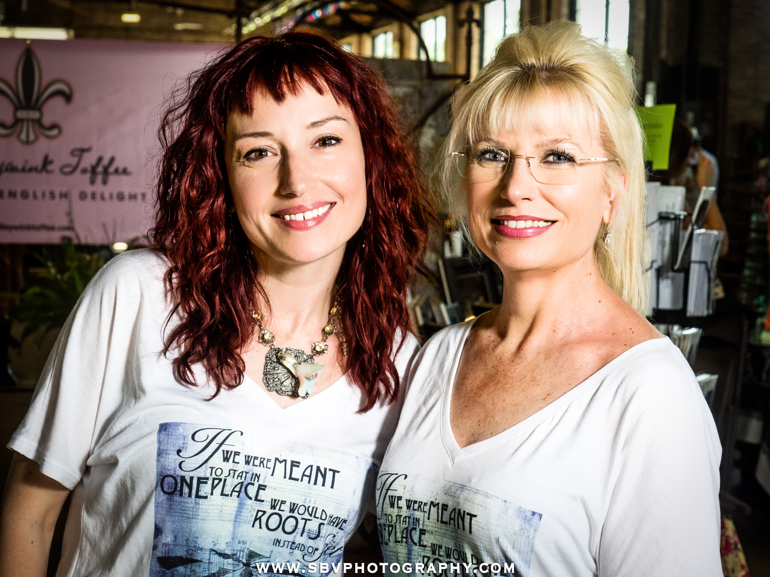Event organizers of Hunt and Gather Pop Up Market.