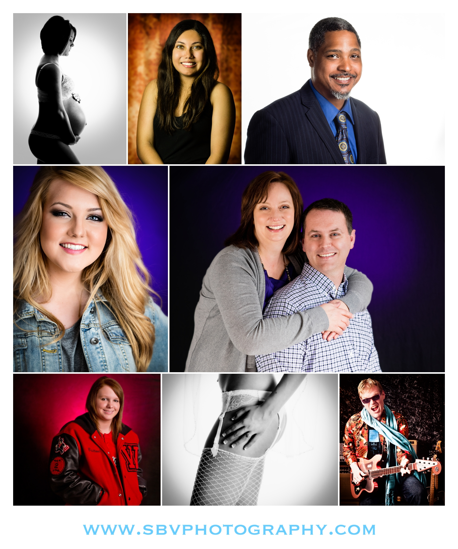 Studio photography in Crown Point, Indiana.