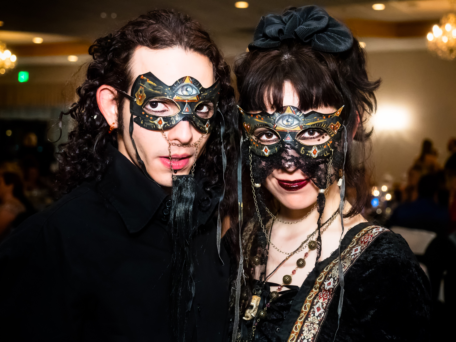 Masquerade ball special event.