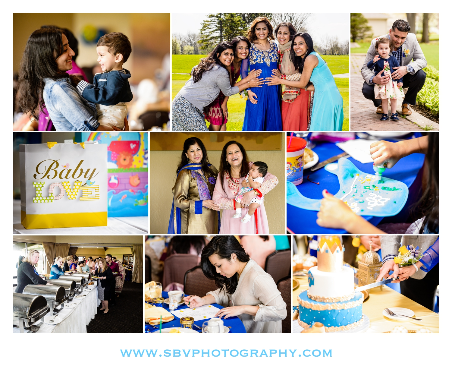 Baby shower celebration at Briar Ridge Country Club.