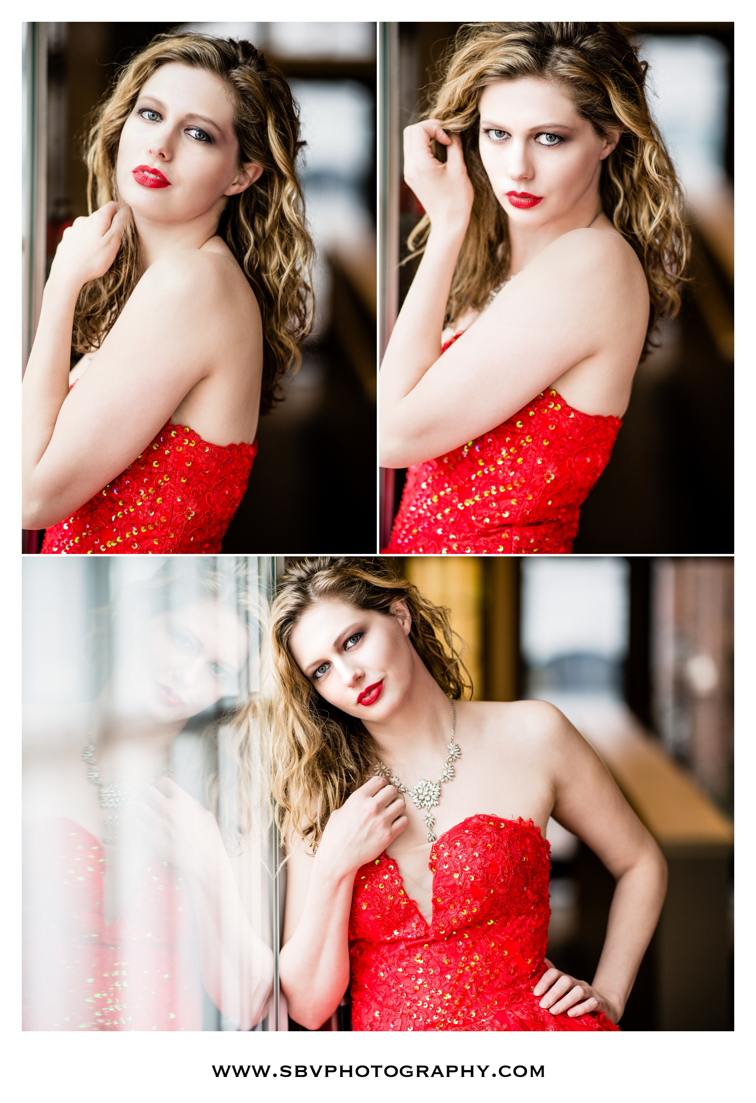 Fashion styled portraits with the Scarlett Obsession Gown.