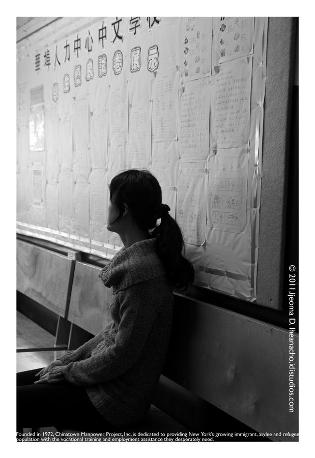 Faces of the Great Recession Series: Chinatown Manpower Project - Waiting