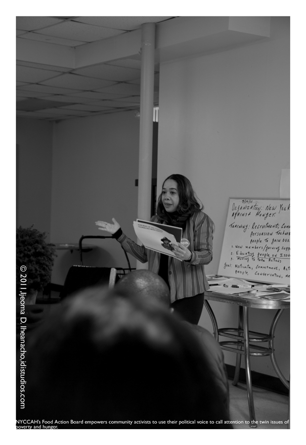 Faces of the Great Recession Series: New York City Coalition Against Hunger - Food Action Board