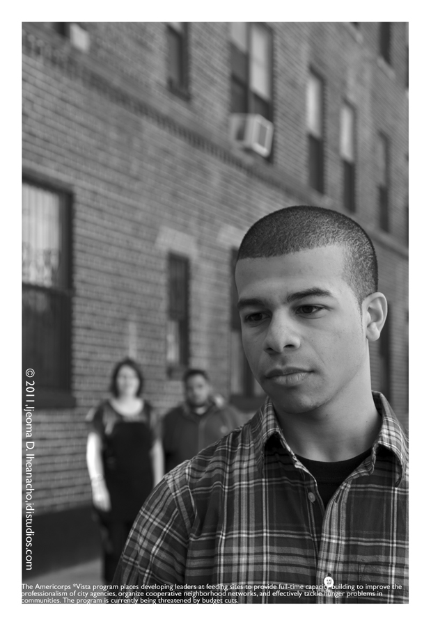 Faces of the Great Recession Series: New York City Coalition Against Hunger - Vistas
