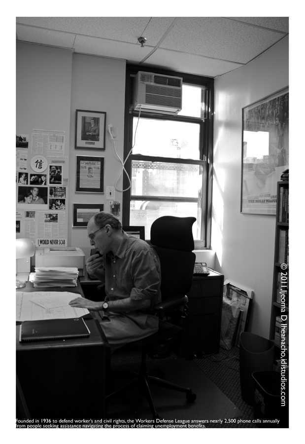 Faces of the Great Recession Series: Workers Defense League - One Man One Phone
