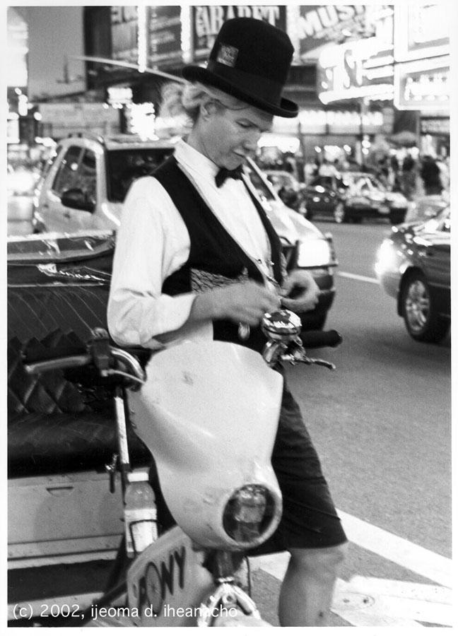 The Human Condition Portfolio: 42nd Street Rickshaw