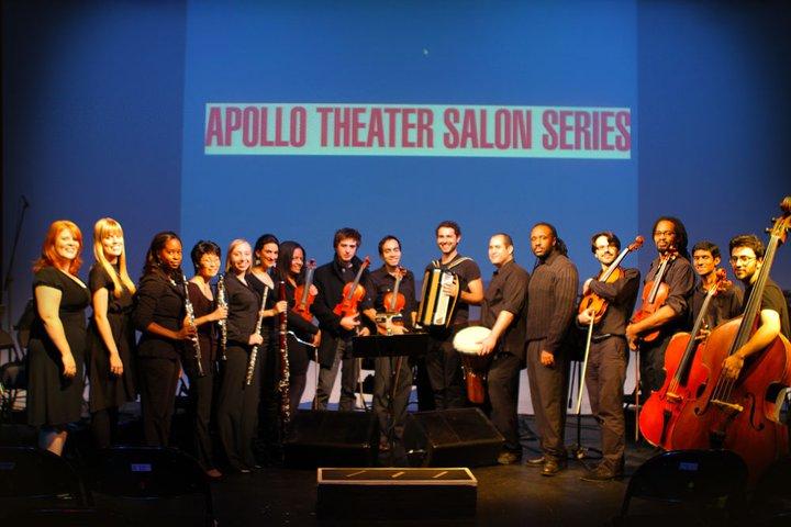 Caballero and the musicians of SPEAK!