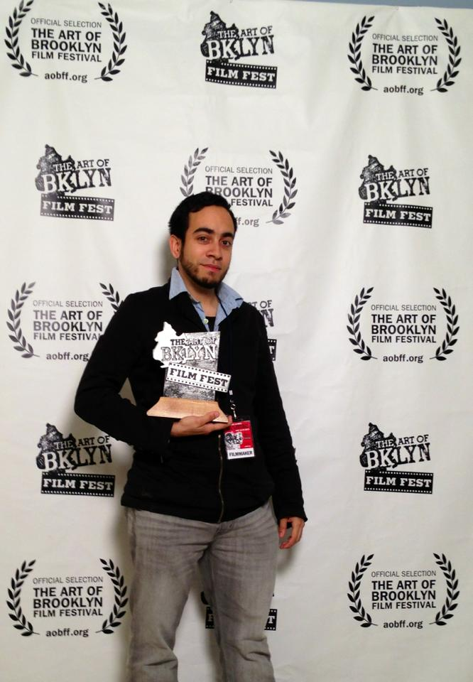 SEED STORY wins the VANGUARD AWARD for BEST AVANT-GARDE film at the  2013 ART OF BROOKLYN FILM FESTIVAL
