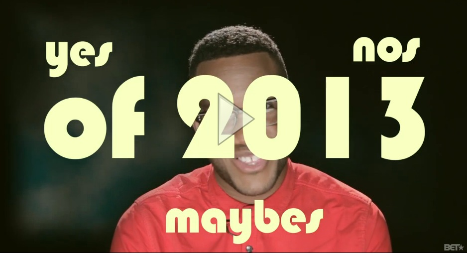 The Gospel According to Torrence: Yes, No, Maybe 2013 – The Yes List
