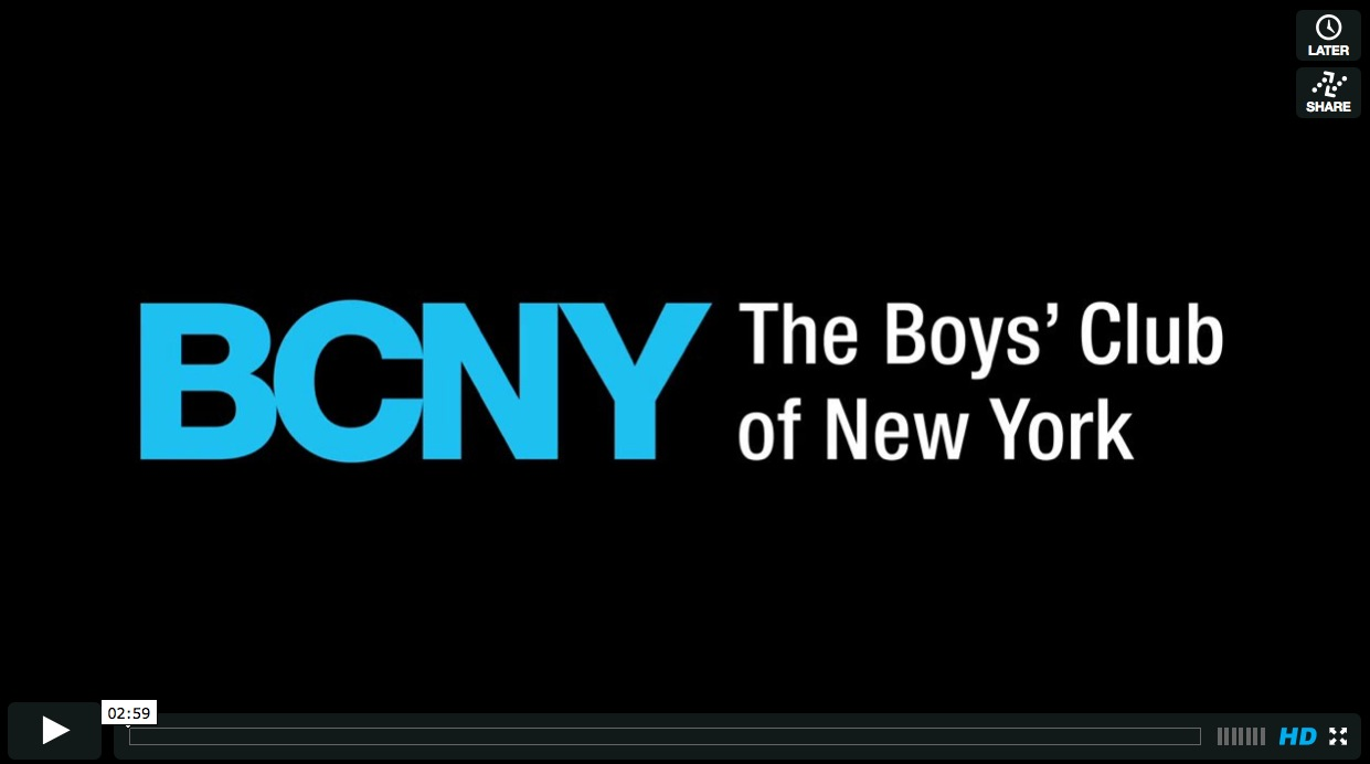 The Boys' Club of New York- 2012
