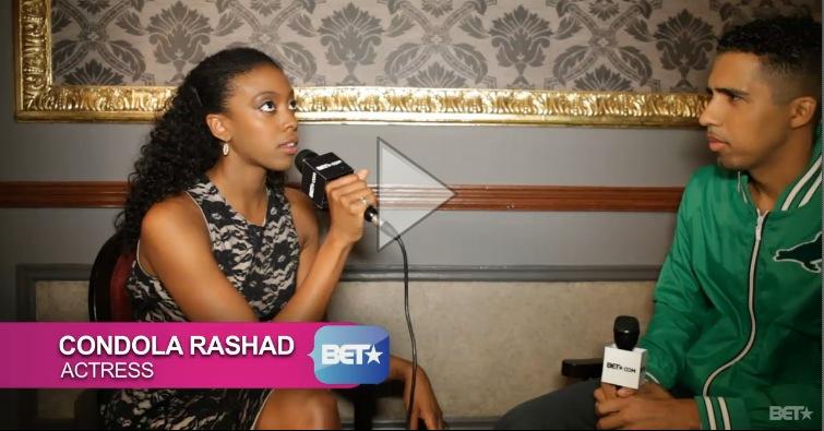 Celebrities: Condola Rashad on LGBT Rights and Racism on Broadway